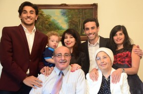 Family of Riyad and Bassima Medawar